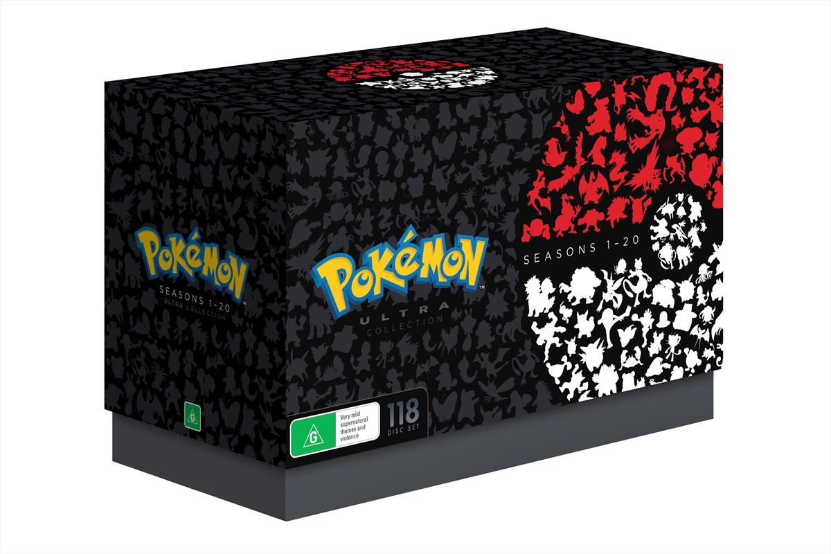 Pokemon - Season 1-20 Ultra Collection | DVD