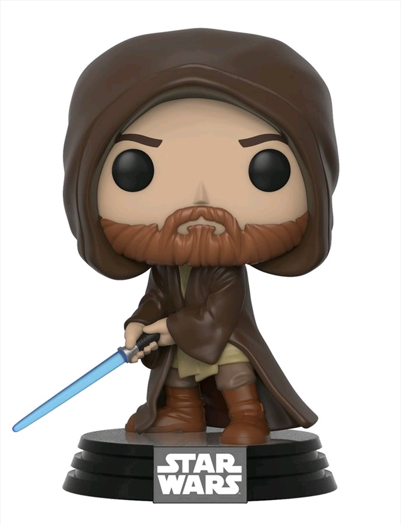 Star Wars - Obi-Wan Kenobi Hooded US Exclusive Pop! Vinyl [RS] | Pop Vinyl