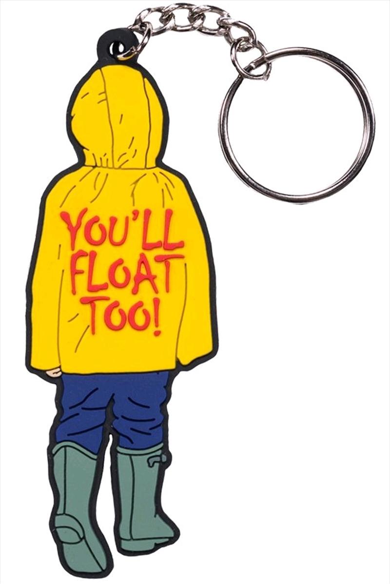 "It (2017) - Georgie ""You'll Float Too!"" PVC Keychain | Accessories"