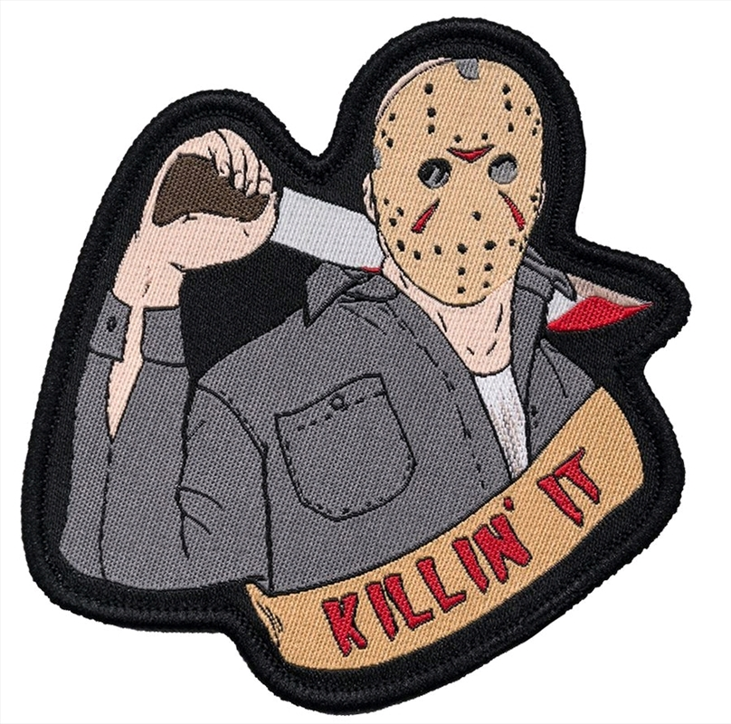 Friday the 13th - Jason Voorhees Patch | Merchandise