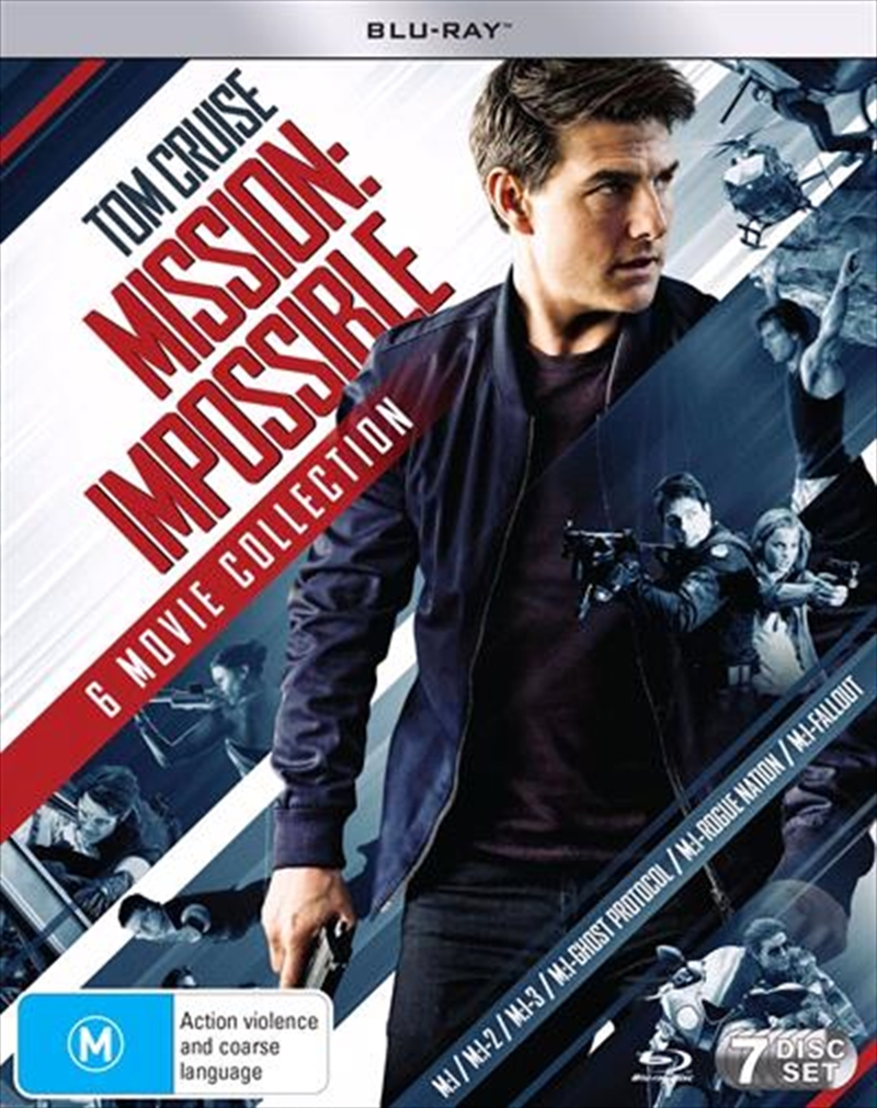 Mission Impossible 6 Movie Franchise Pack | Blu-ray