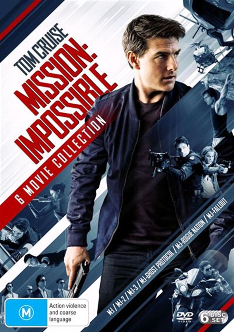 Buy Mission Impossible 1 - 6 Boxset on DVD | Sanity Online