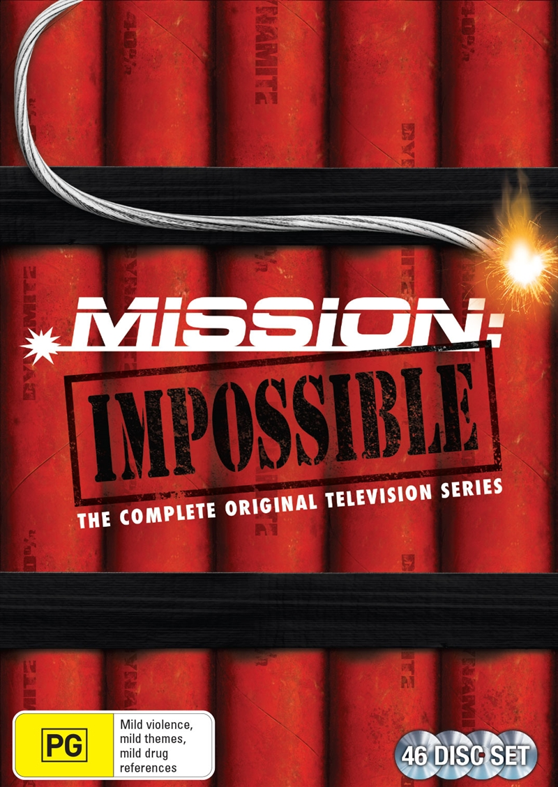 Mission Impossible - Season 1 - 7 (SANITY EXCLUSIVE) | DVD