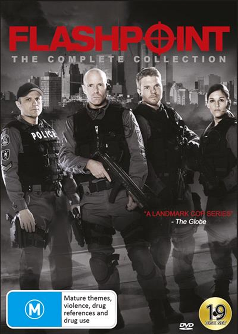 Flashpoint   Complete Series   DVD