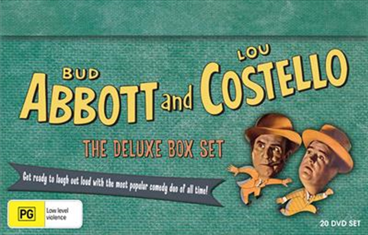 Abbott And Costello Deluxe Boxset | DVD