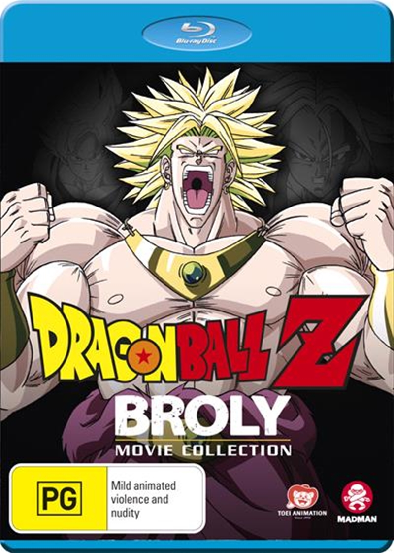 Dragon Ball Z Broly Movie Collection | Blu-ray