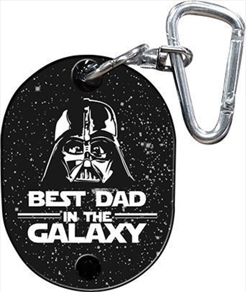 Star Wars Keyring Darth Vader Best Dad in the Galaxy Musical | Accessories