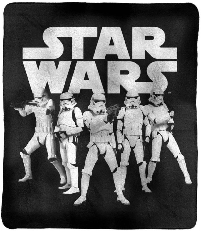 Star Wars Throw Rug Stormtroopers | Merchandise