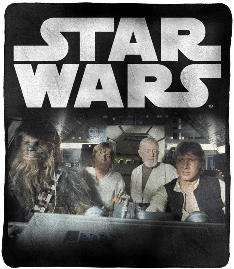 Star Wars - Millenium Falcon Throw Rug | Merchandise