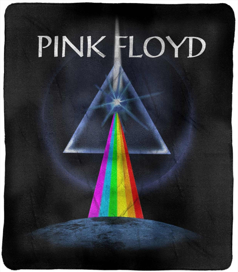 Pink Floyd Dark Side of the Moon Throw Rug | Merchandise