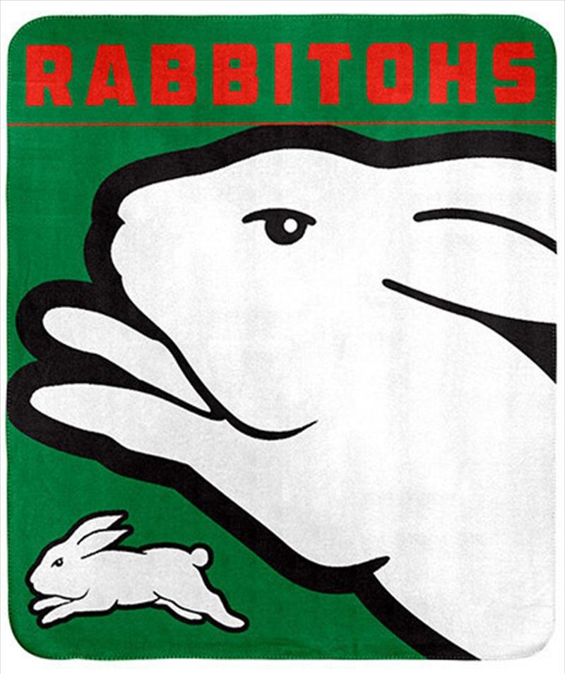 NRL Polar Fleece Blanket South Sydney Rabbitohs | Merchandise