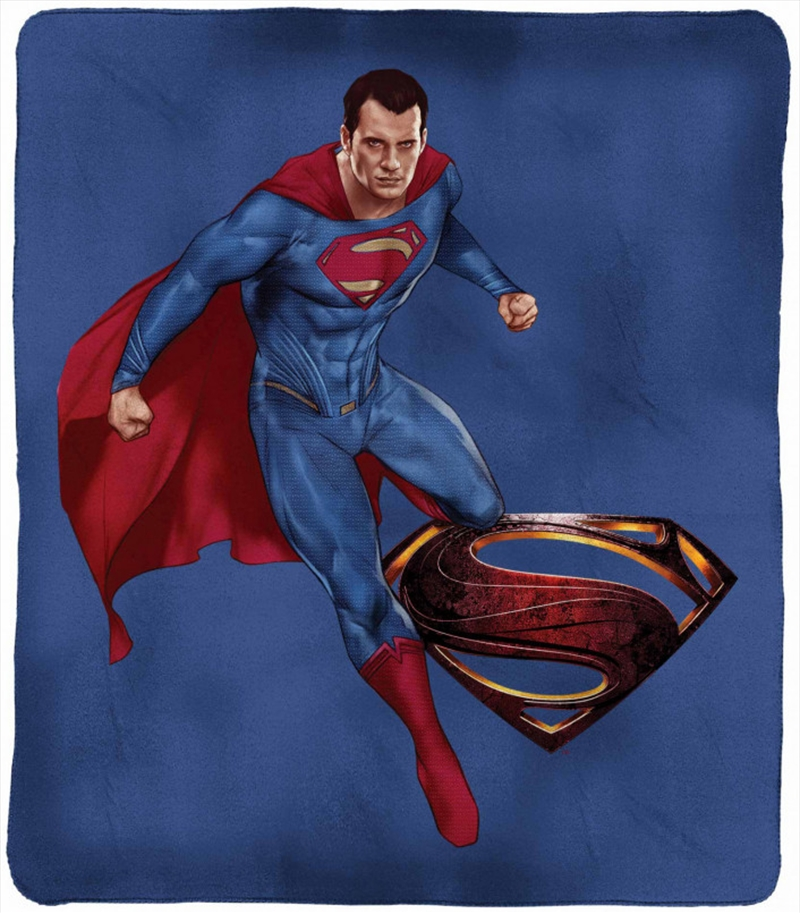 DC Justice League Throw Rug Superman | Merchandise