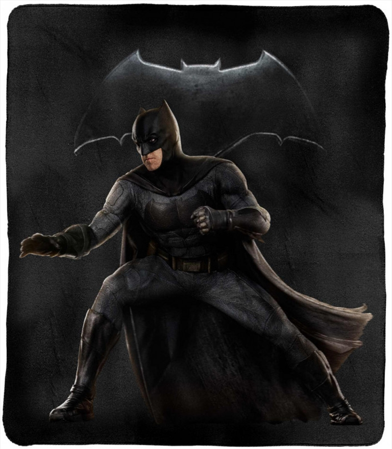 DC Justice League Throw Rug Batman | Merchandise