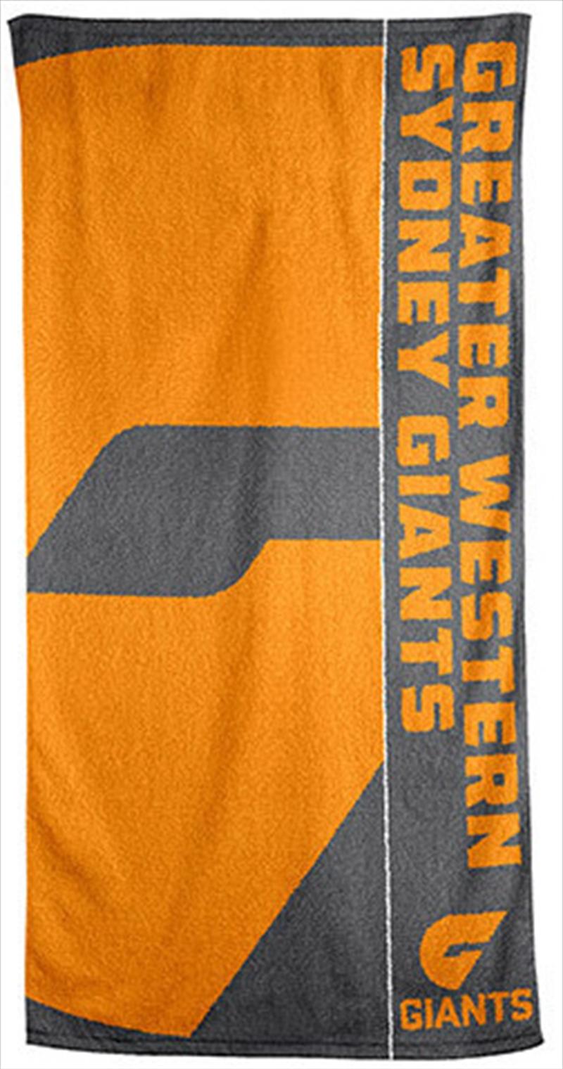 AFL Beach Towel Greater Western Sydney Giants | Apparel