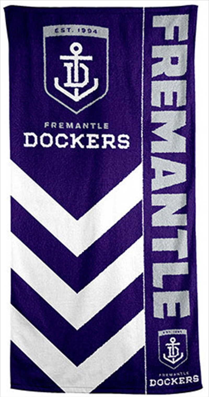 AFL Beach Towel Fremantle Dockers | Apparel