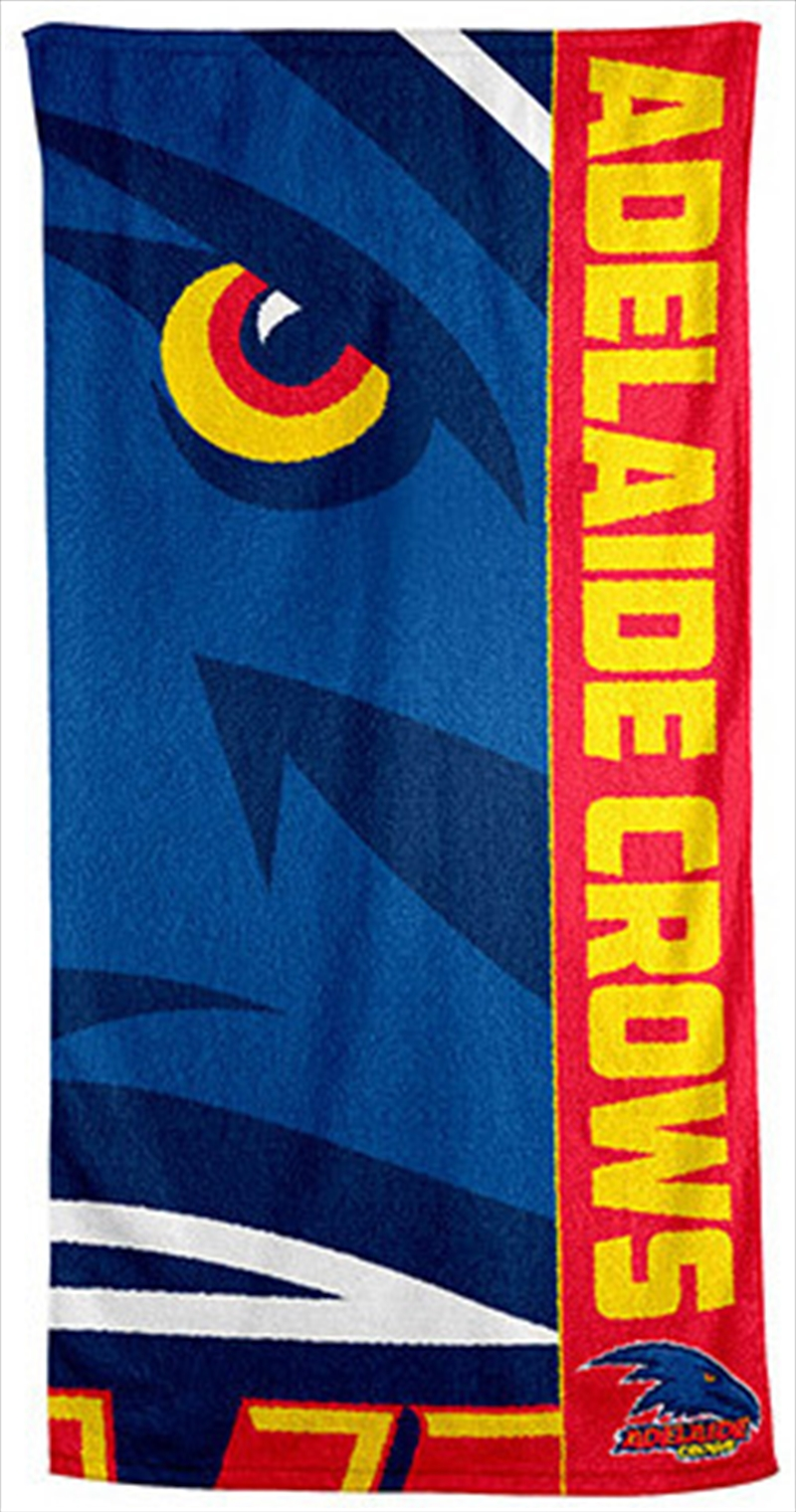 AFL Beach Towel Adelaide Crows   Apparel