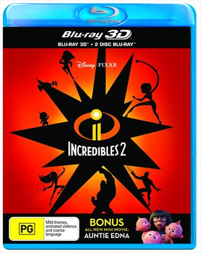 Incredibles 2 - Bonus Disc | Blu-ray 3D