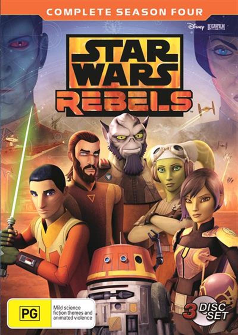 Star Wars Rebels - Season 4 | DVD