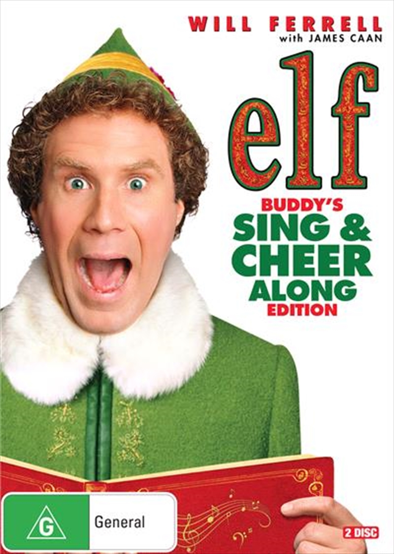 Elf Buddy's Sing and Cheer Along Edition | DVD