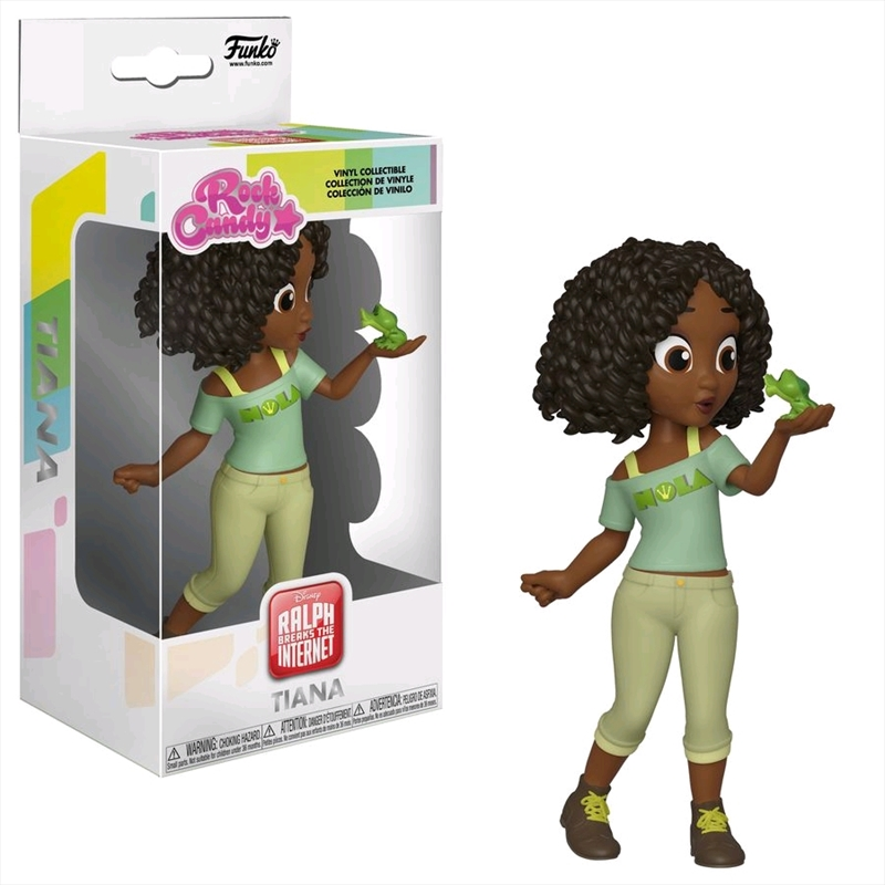 Wreck-It Ralph 2: Ralph Breaks the Internet - Comfy Tiana Rock Candy | Merchandise