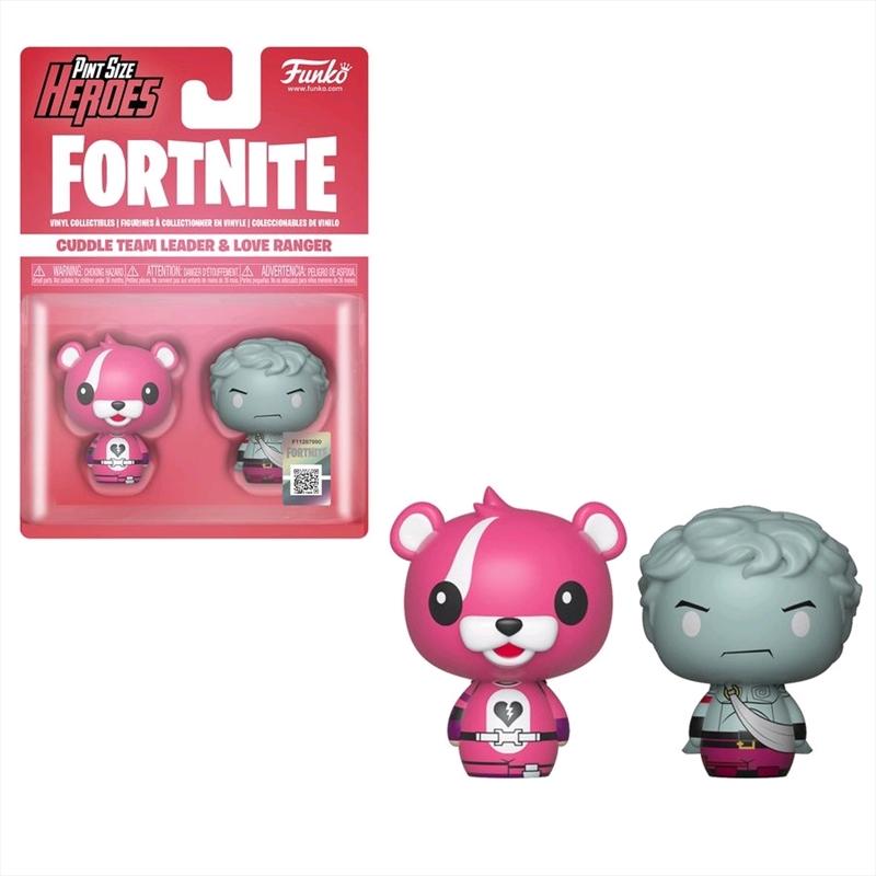 Fortnite - Cuddle Team Leader & Love Pint Size Hero 2-pack | Merchandise