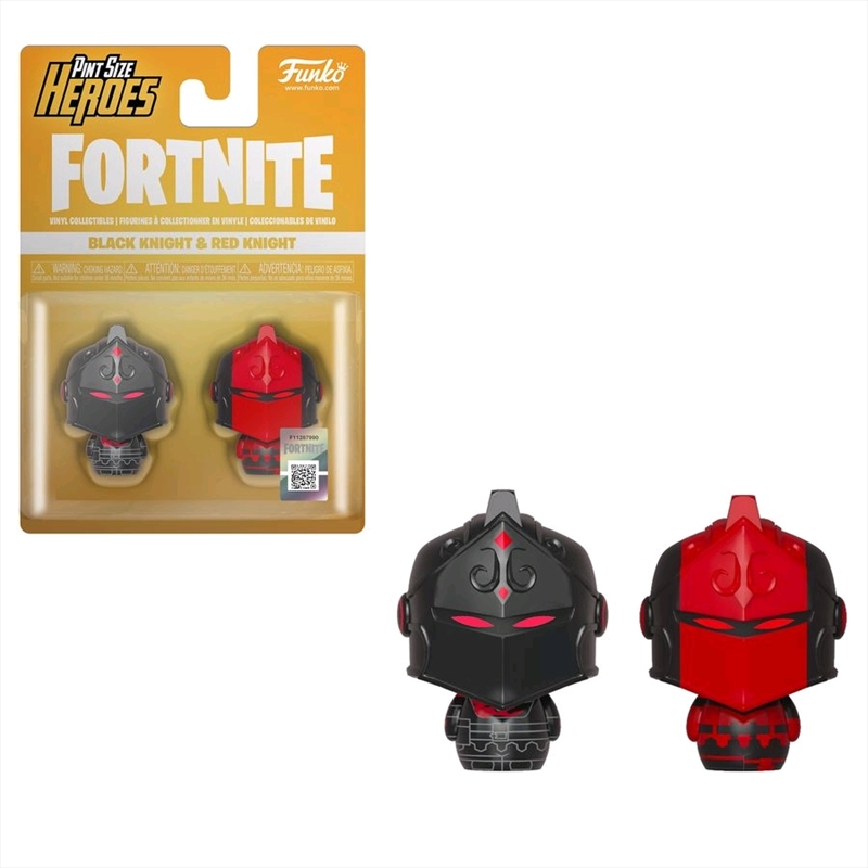 Fortnite - Black Knight & Red Knight Pint Size Hero 2-pack | Merchandise