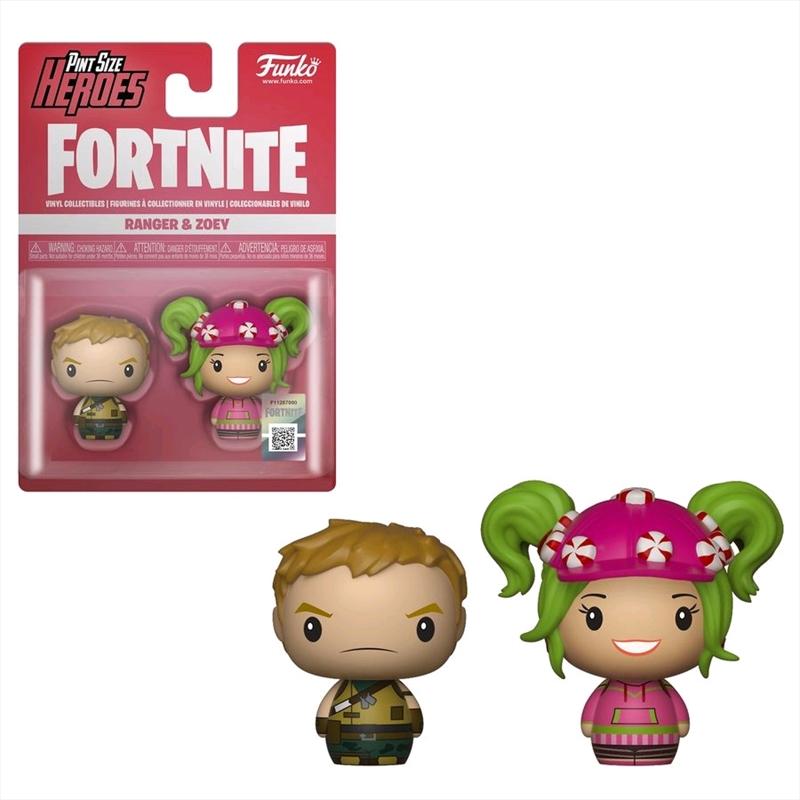 Fortnite - Ranger & Zoey Pint Size Hero 2-pack | Merchandise