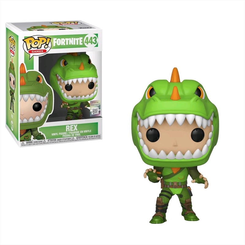 Fortnite - Rex Pop! Vinyl | Pop Vinyl