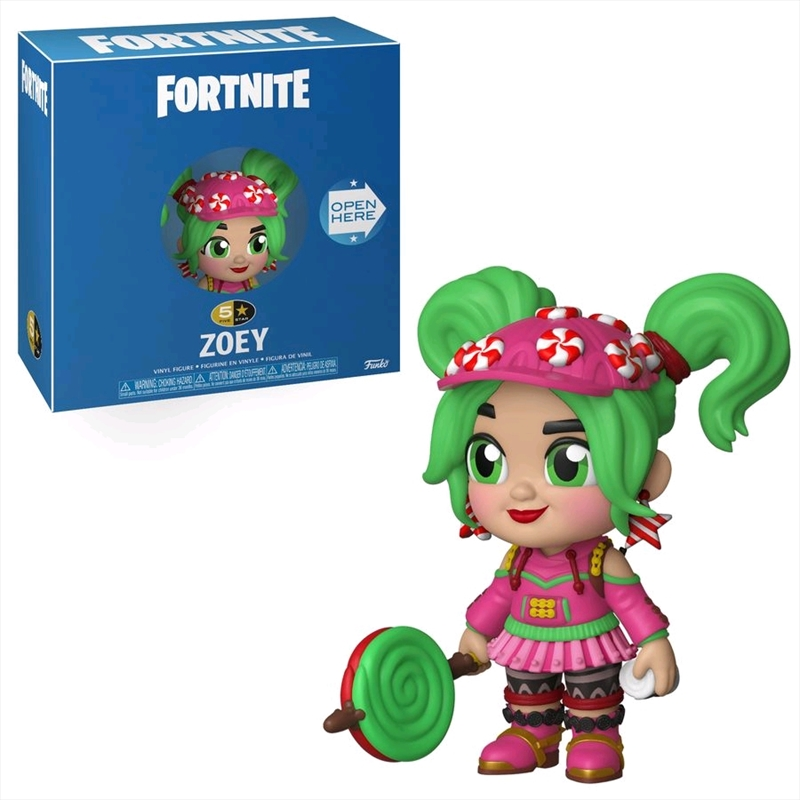 Fortnite - Zoey 5-Star Vinyl Figure   Merchandise