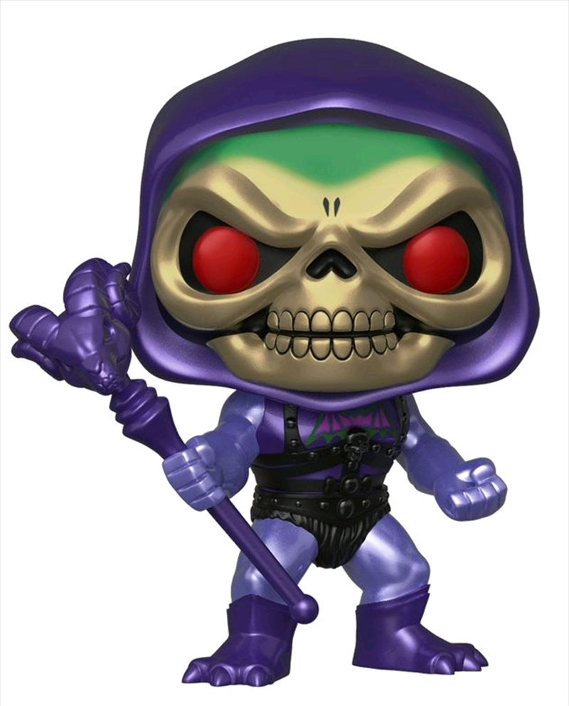 Masters of the Universe - Skeletor Battle Armor Metallic US Exclusive Pop! Vinyl [RS] | Pop Vinyl