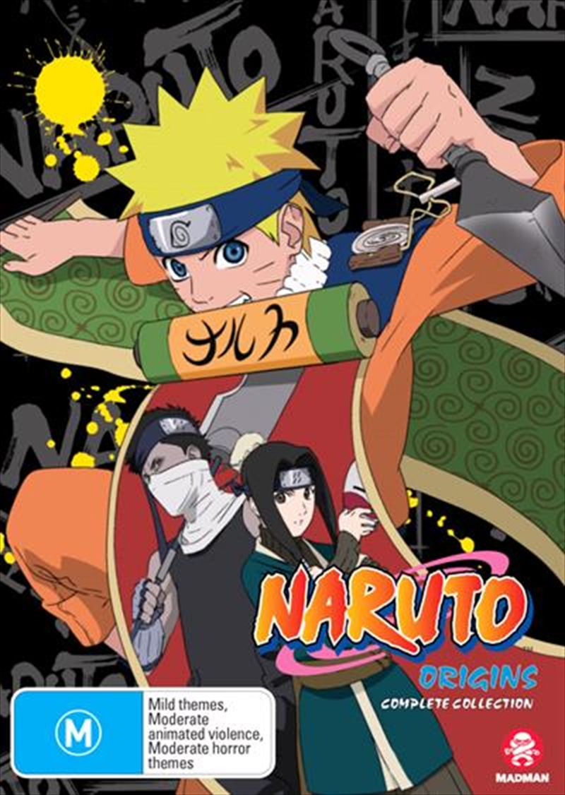 Naruto Origins - Limited Edition Complete Series | DVD