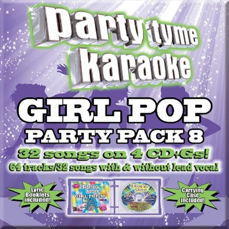 Girl Pop Party Pack 8 | CD