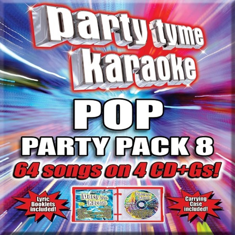 Pop Party Pack 8 | CD