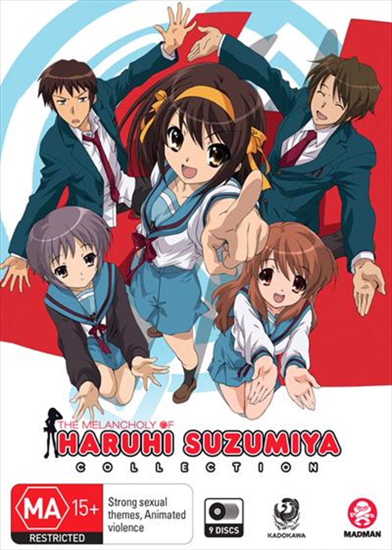 Melancholy Of Haruhi Suzumiya - Season 1-2 Collection - + Movie, The | DVD
