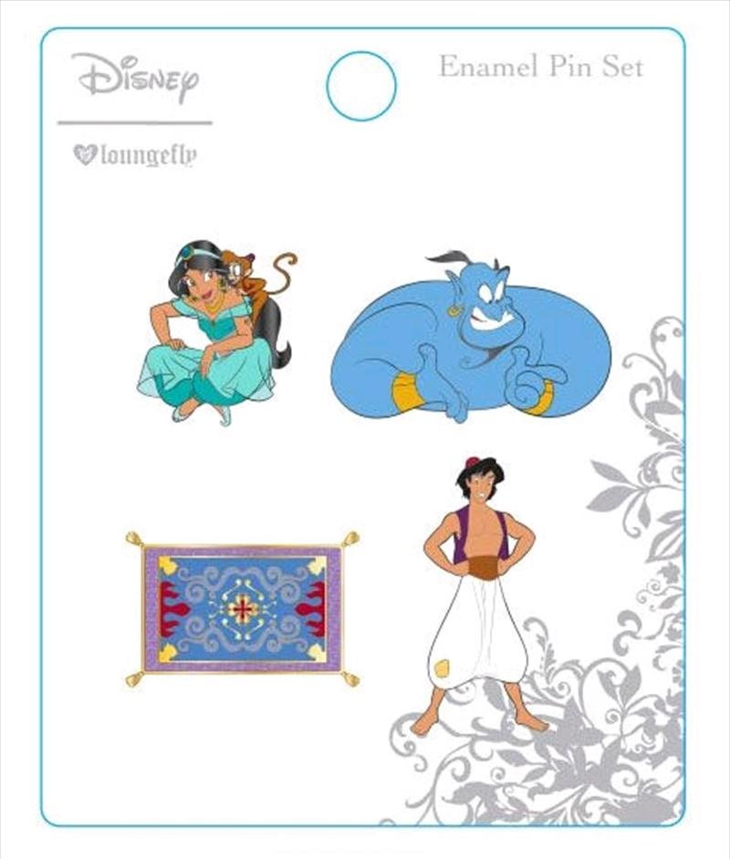 Aladdin - Enamel Pin 4-pack   Merchandise