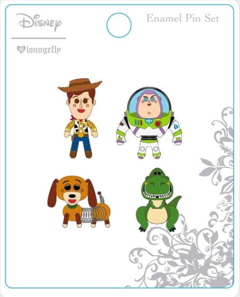 Toy Story - Enamel Pin 4-pack | Merchandise