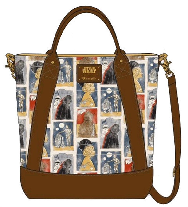 Star Wars - Character Print Tote Bag | Apparel