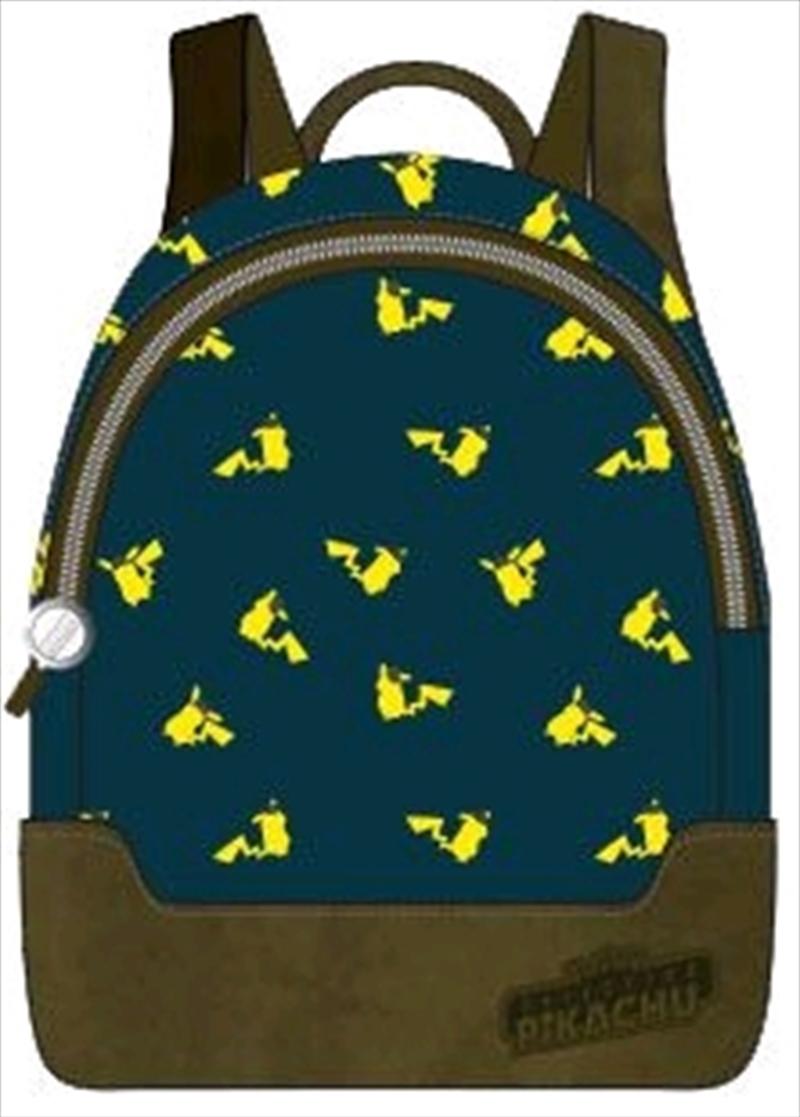 Pokemon - Pikachu Print Mini Backpack | Apparel