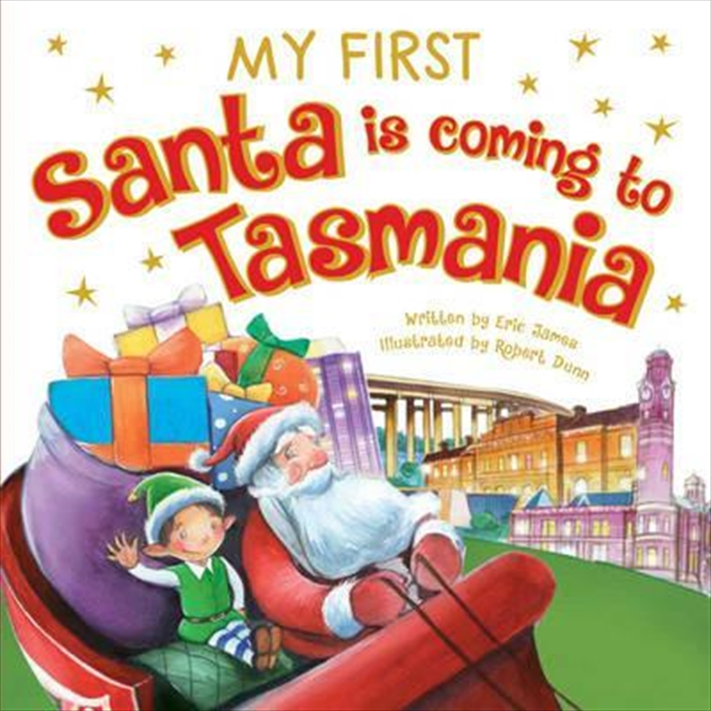 My First Santa is Coming to Tasmania | Board Book
