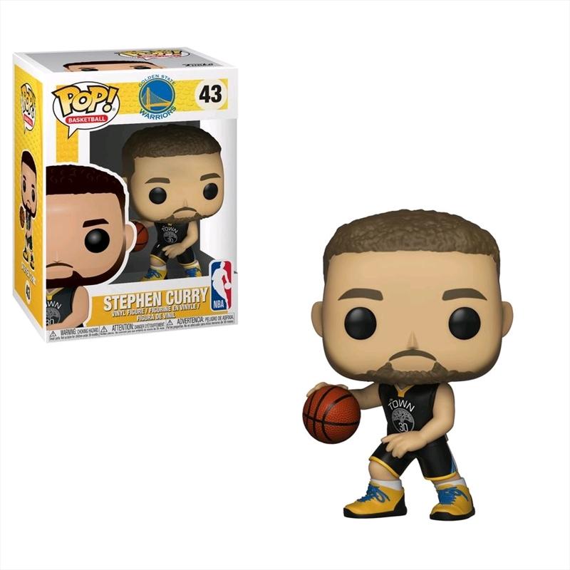 NBA: Warriors - Stephen Curry Pop! Vinyl | Pop Vinyl