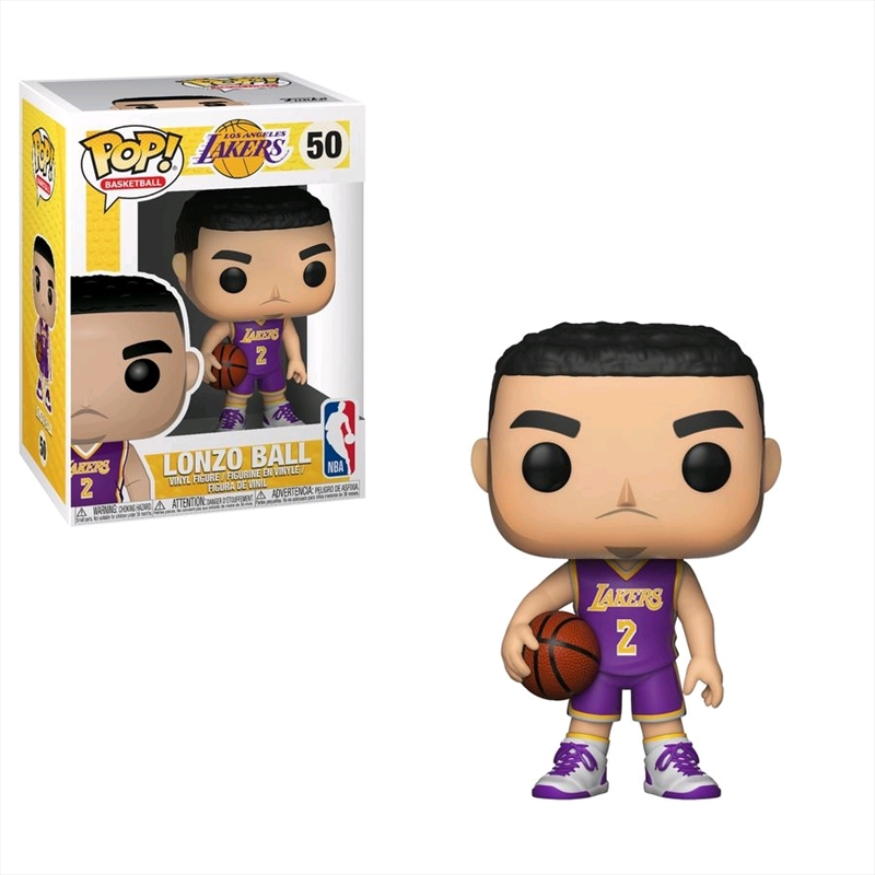 NBA: Lakers - Lonzo Ball Pop! Vinyl | Pop Vinyl
