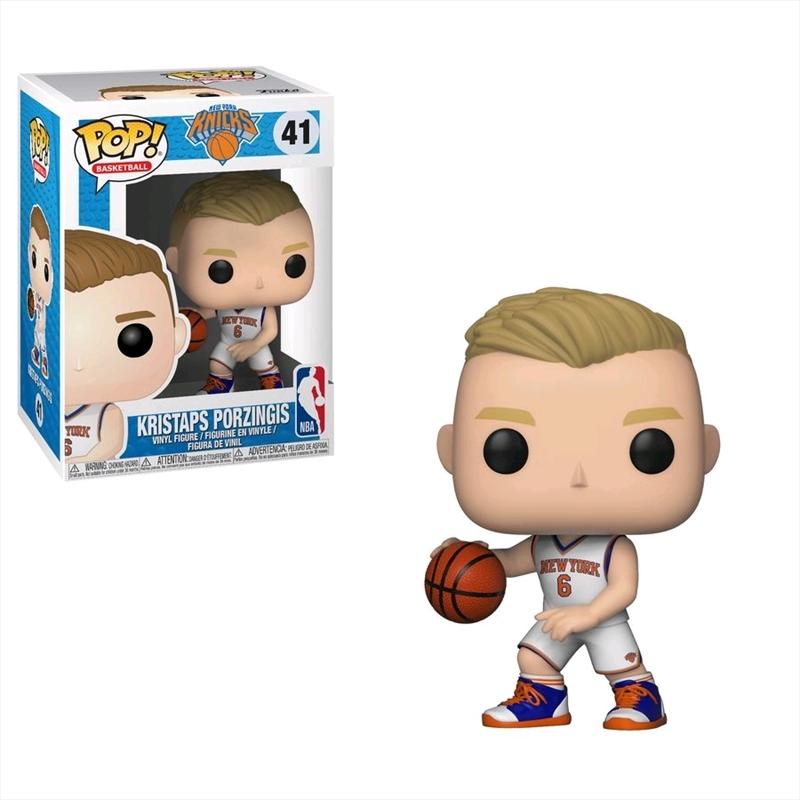 NBA: Knicks - Kristaps Porzingis Pop! Vinyl | Pop Vinyl