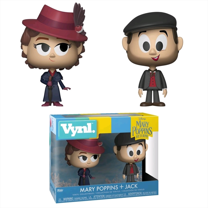 Mary Poppins Returns - Mary Poppins & Jack Vynl. | Pop Vinyl
