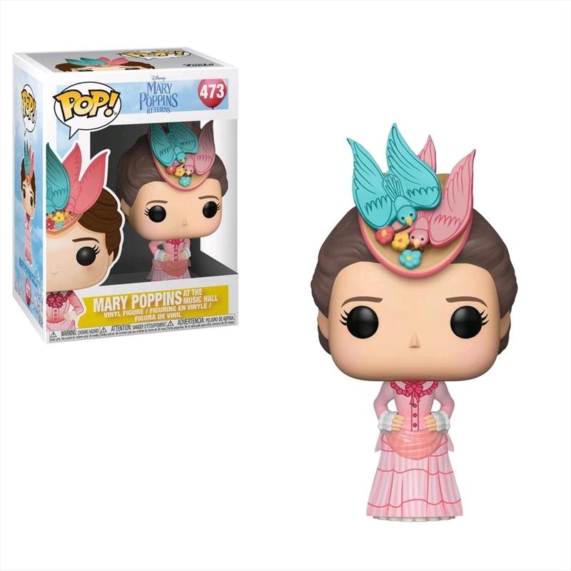 Mary Poppins Returns - Mary Poppins at the Music Hall Pop! Vinyl | Pop Vinyl
