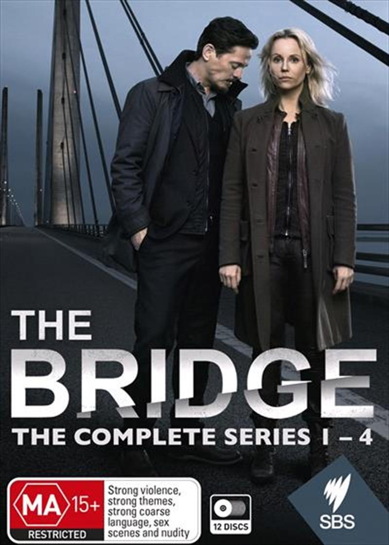 Bridge - Series 1-4   Boxset, The   DVD