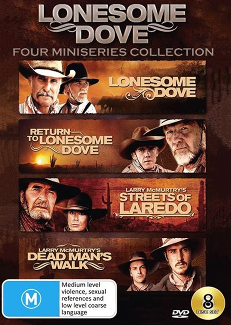 Lonesome Dove Collection - Four Mini-Series   DVD