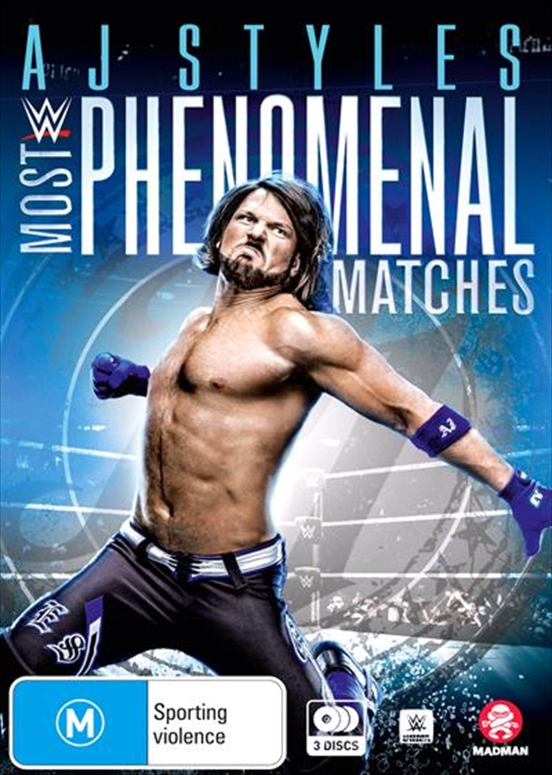WWE - AJ Styles - Most Phenomenal Matches | DVD