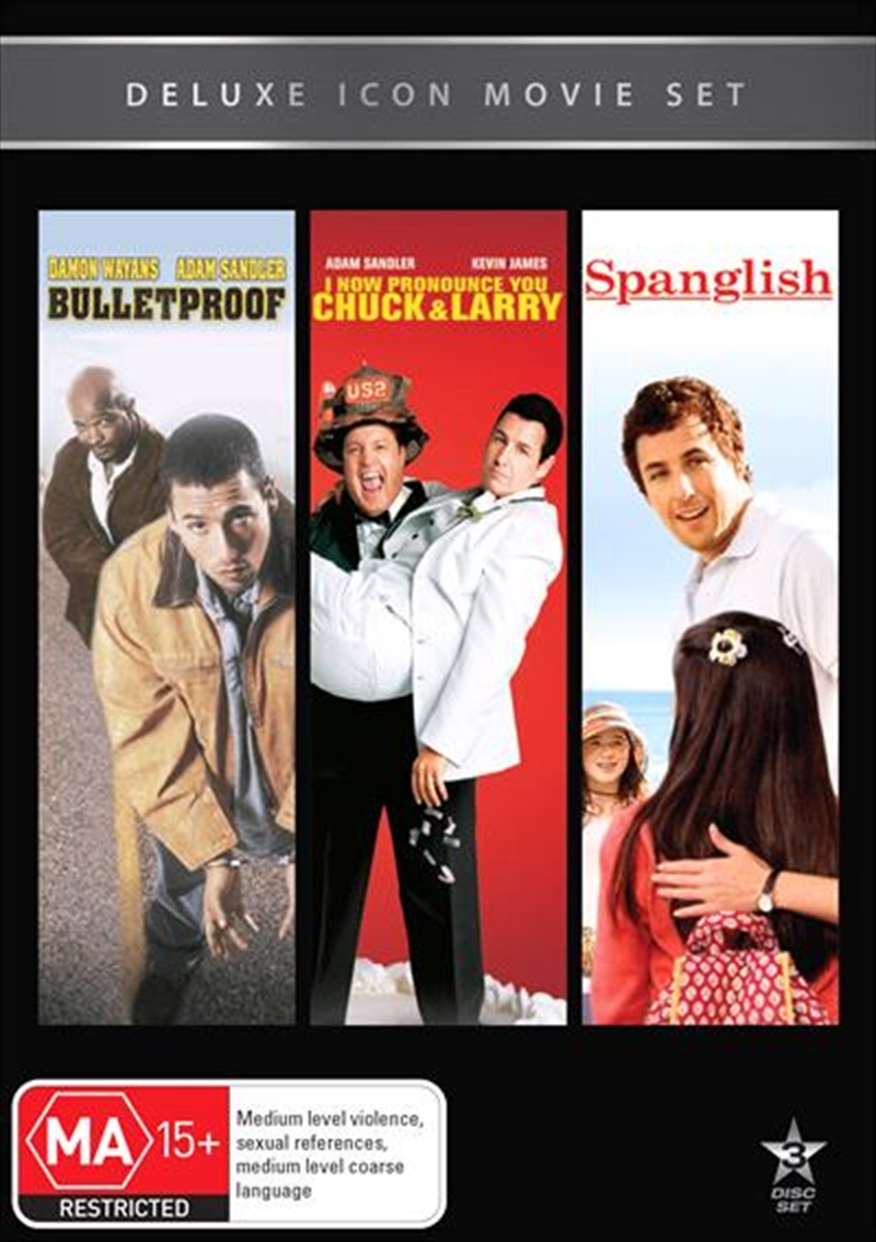 Movie Marathon - Bulletproof / I Now Pronounce You Chuck & Larry / Spanglish | DVD
