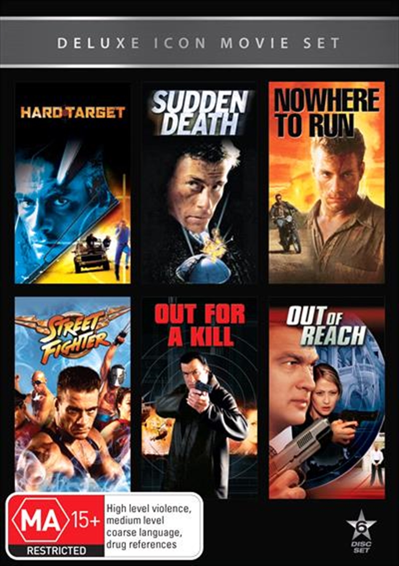 Buy Movie Marathon - Hard Target / Sudden Death / Nowhere to
