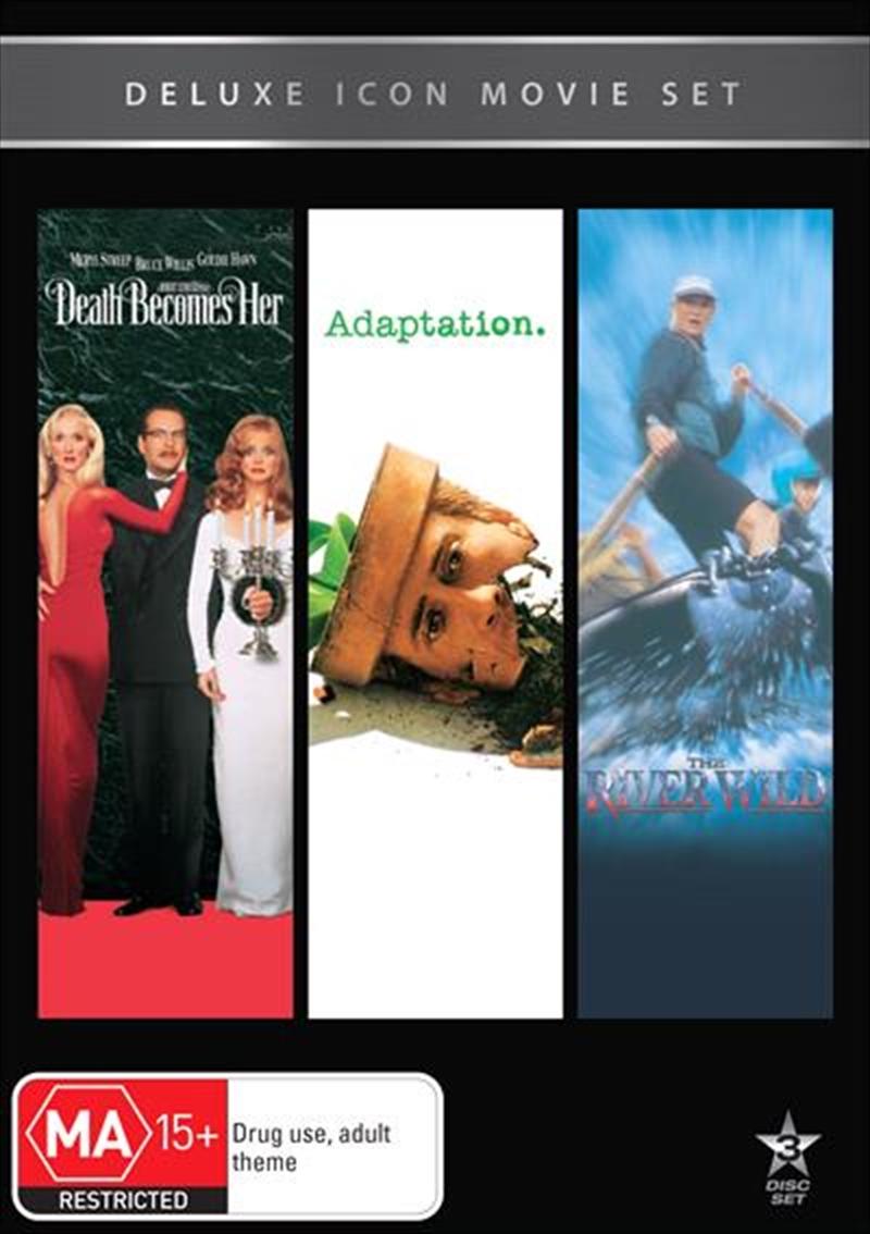 Movie Marathon - Death Becomes Her / Adaptation / The River Wild | DVD